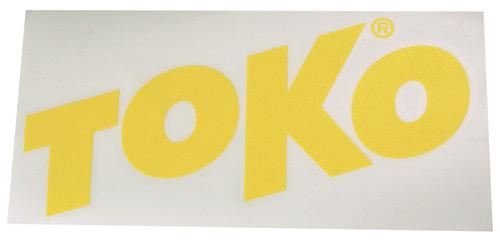 Наклейка TOKO TOKO Letter Sticker Yellow