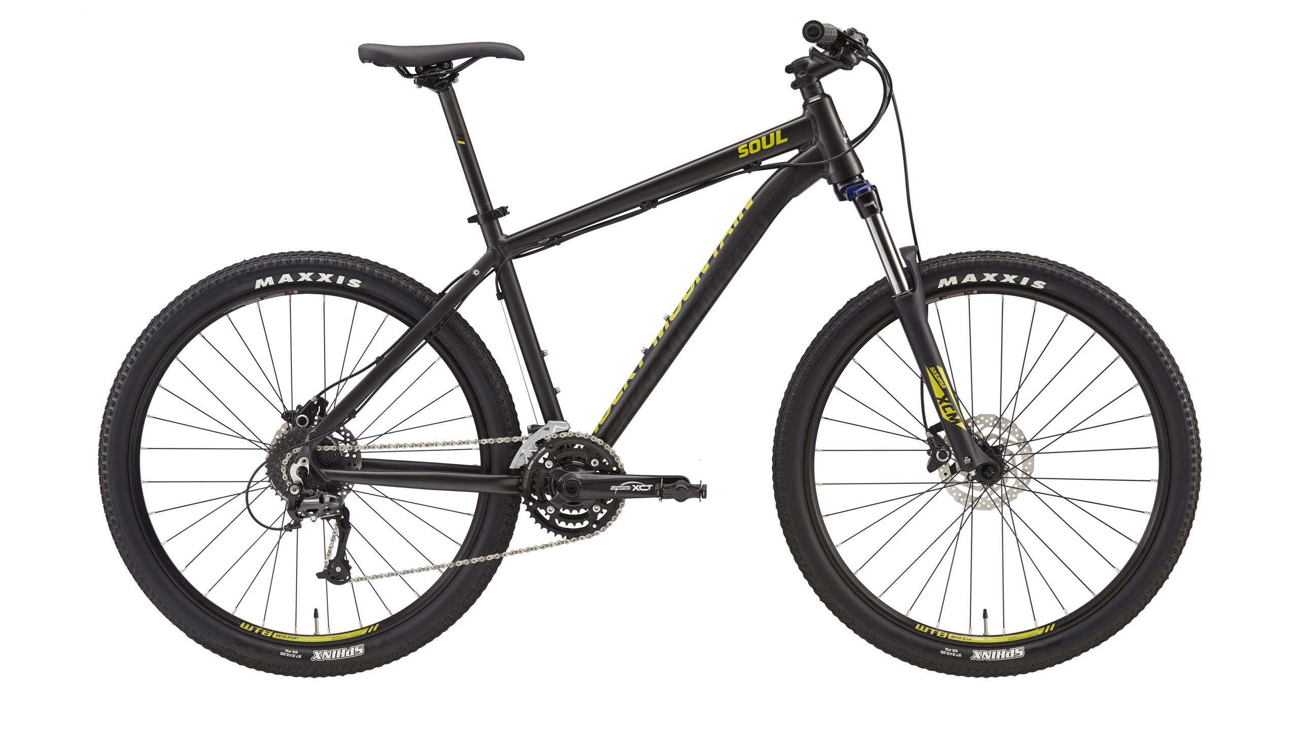 Велосипед ROCKY MOUNTAIN SOUL 710 2016 MATTE SMOKE/BLACK/LEMONGRASS