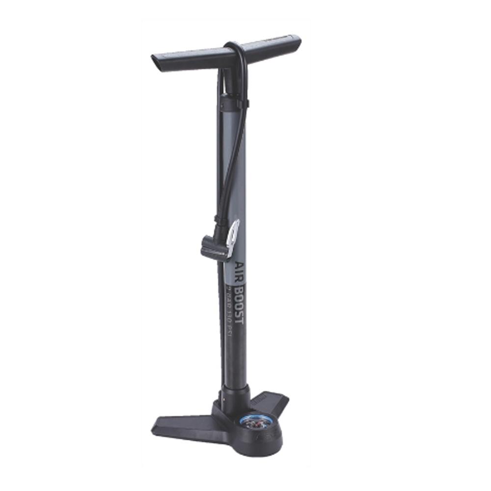 Насос напольный BBB AirBoost steel pump серый (BFP-21), Все для велотуризма - арт. 822500351
