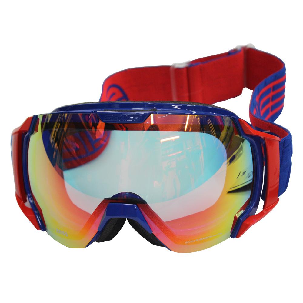 Очки горнолыжные Salice 619DARWF CHARCOAL/RW CLEAR (б/р:ONE SIZE), Горнолыжные очки и маски - арт. 970770418