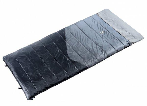 Спальник Deuter 2016-17 Sleeping Bags Space II (прав) titan-black  - купить со скидкой