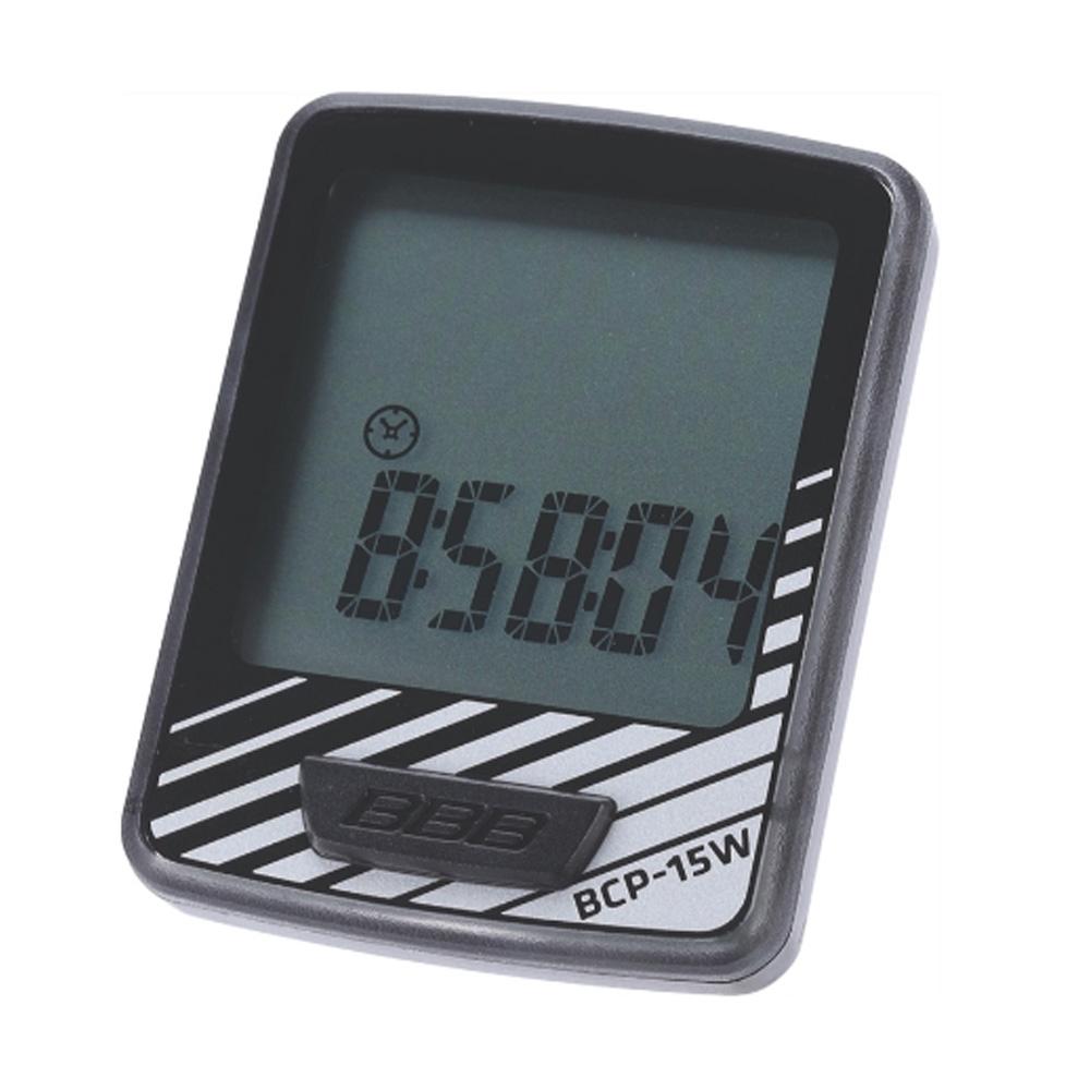 Компьютер BBB DashBoard 10 functions проводной черный/серебро (BCP-15W), Все для велотуризма - арт. 819890351