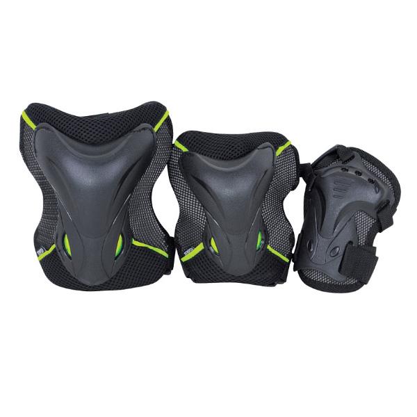 Комплект 3-х элементов защиты TEMPISH 2017 JOLLY green, Защита при езде на роликовых коньках - арт. 830070432