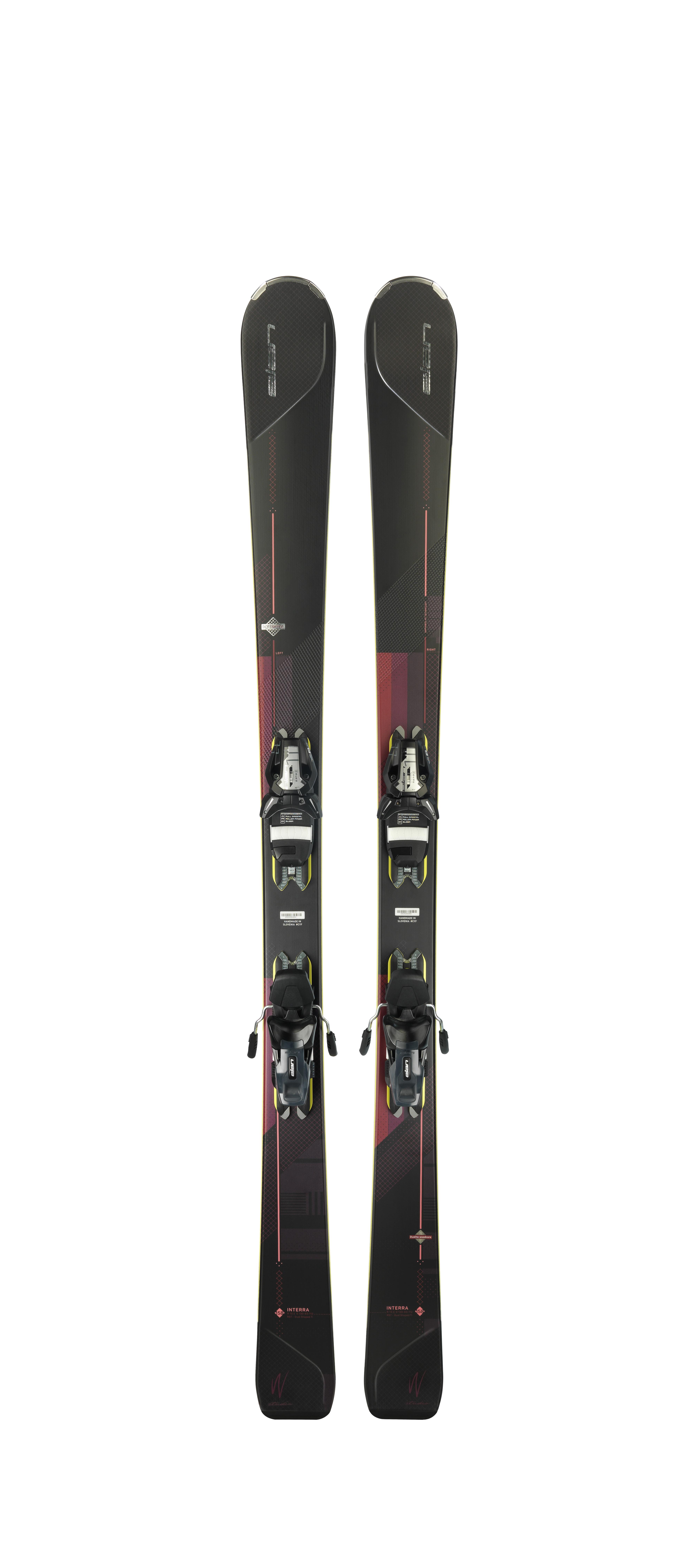 Горные лыжи с креплениями Elan 2017-18 Interra ELS 11 PS WB