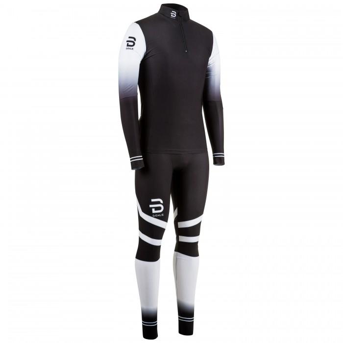Комплект беговой Bjorn Daehlie 2017-18 Racesuit Nations 2-Piece Jr Black, Летние костюмы - арт. 972850260