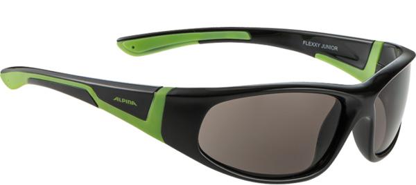 Очки солнцезащитные ALPINA FLEXXY JUNIOR black-green