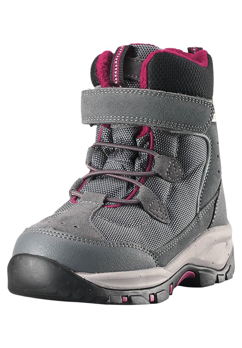 Ботинки городские (высокие) Reima 2017-18 Denny Soft Grey, Треккинговая обувь - арт. 887500252