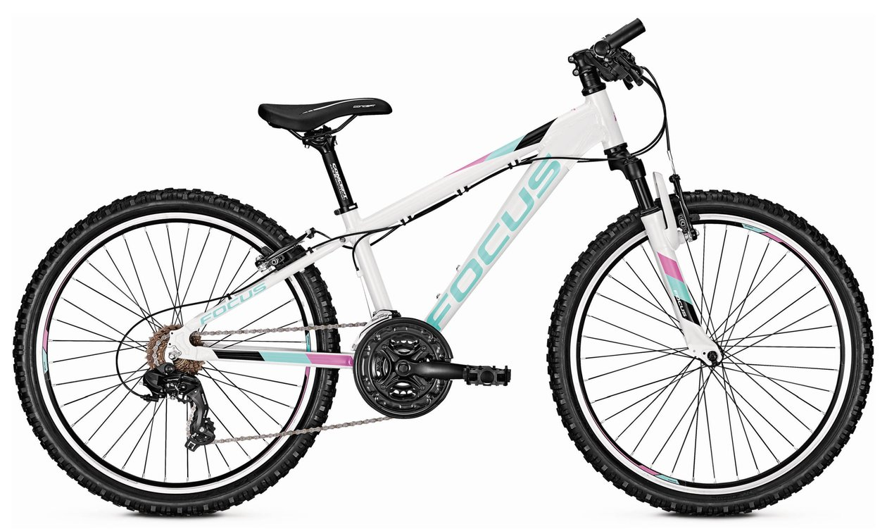 Велосипед FOCUS RAVEN ROOKIE 24 2018 white, Велосипеды - арт. 1028650390