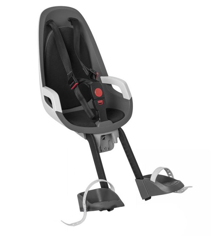 Детское кресло HAMAX CARESS OBSERVER серый/белый/черный
