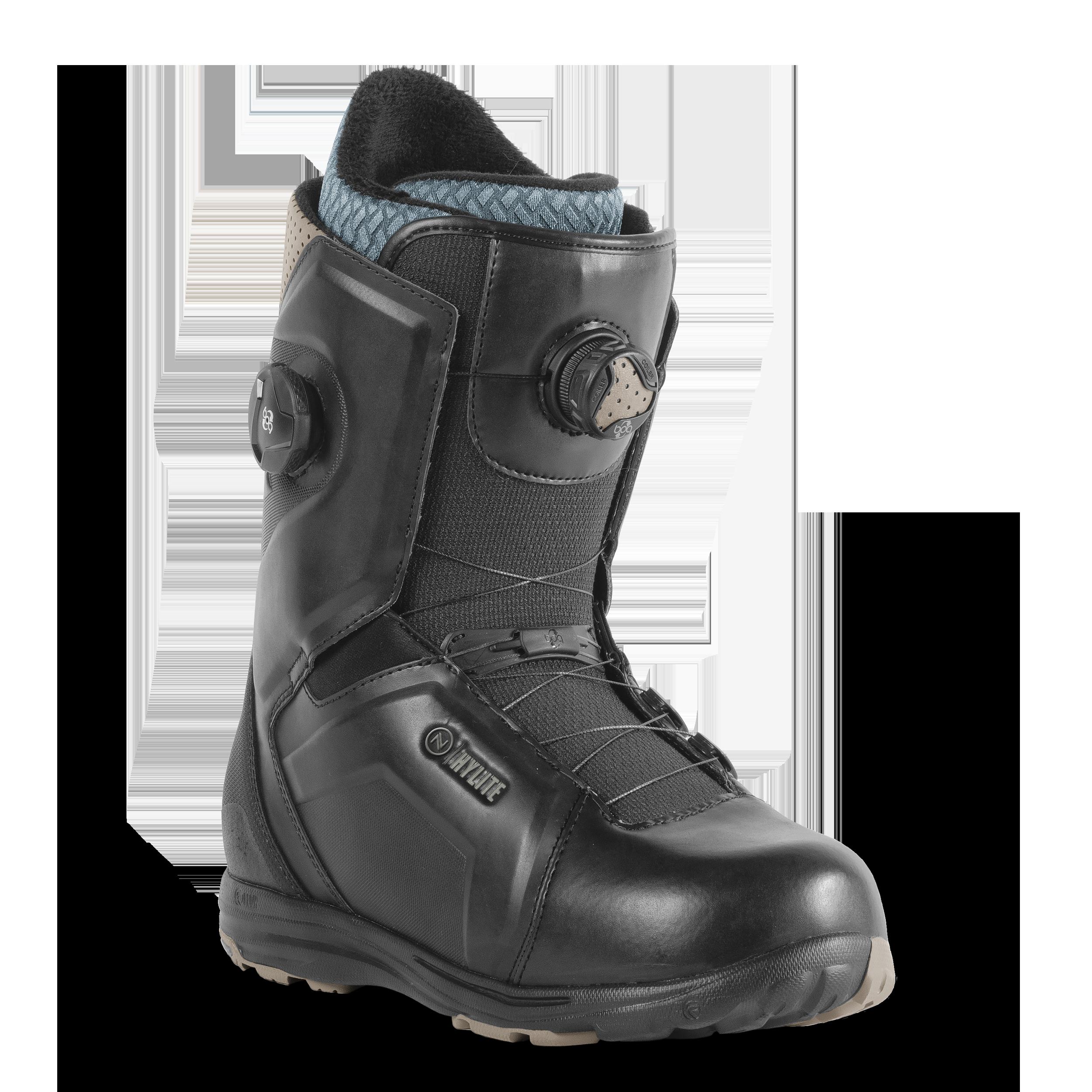 Ботинки для сноуборда NIDECKER 2017-18 FLOW HYLITE H-LOCK FOCUS BLACK