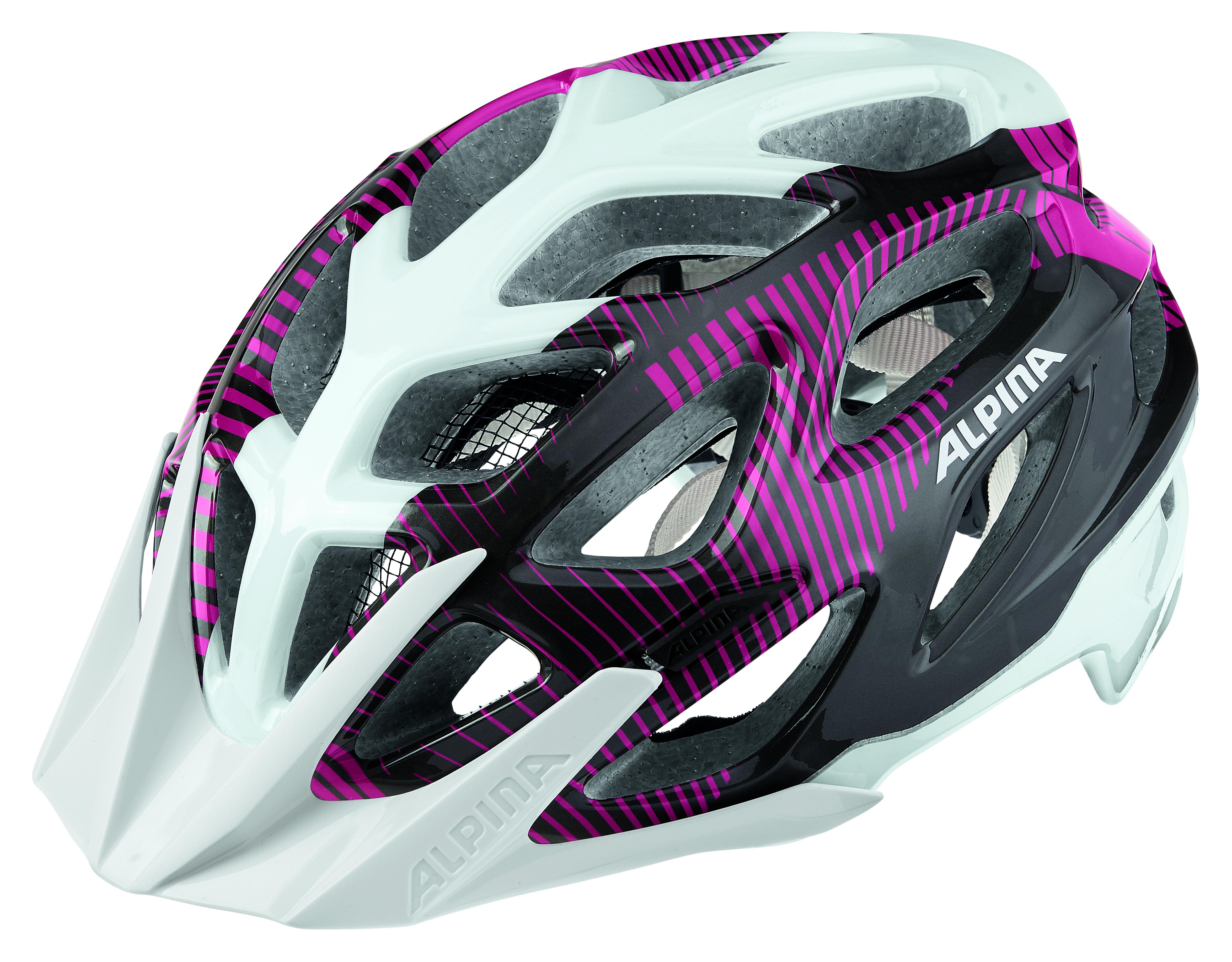 Велошлем Alpina 2018 Mythos 3.0 white-purple-titanium, Велошлемы - арт. 1017200356