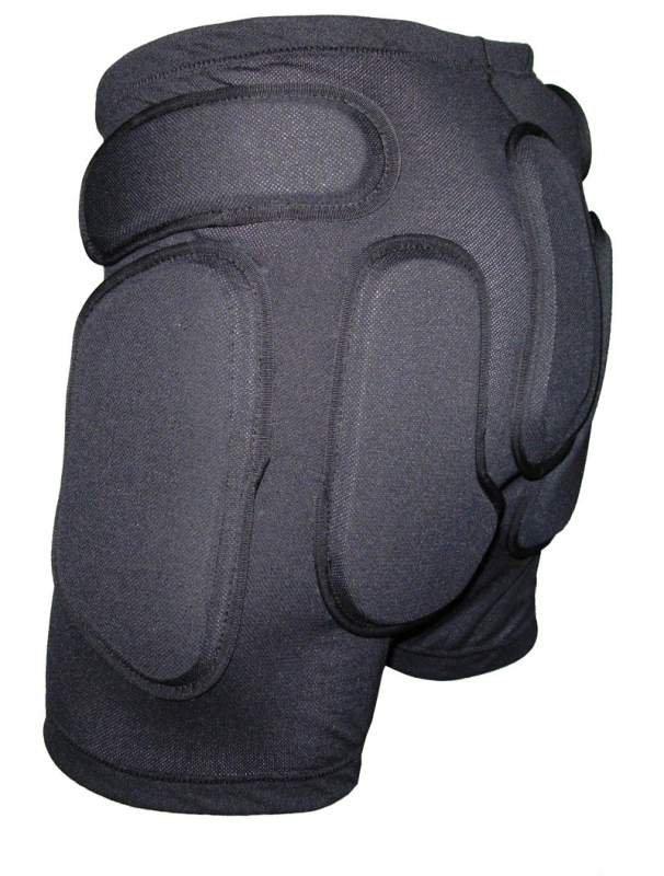 Защитные шорты BIONT Экстрим с открытым пластиком 8-10мм Черный - артикул: 599890173
