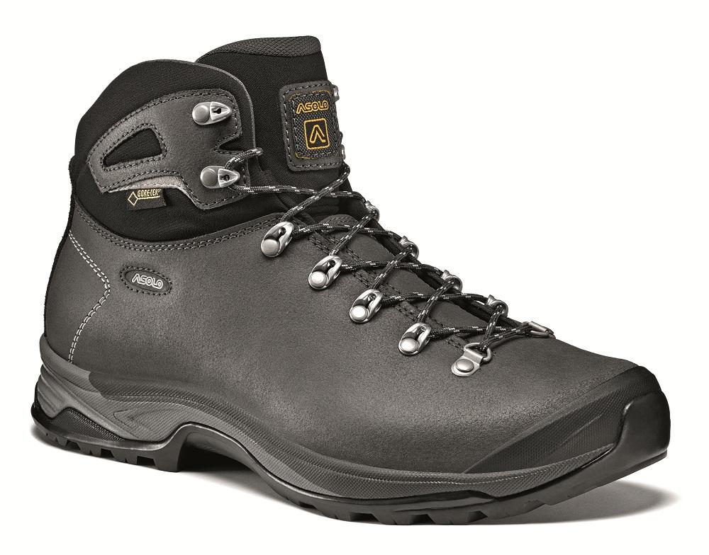 Купить Ботинки для треккинга (высокие) Asolo Hike Thyrus GV Dark graphite / Black