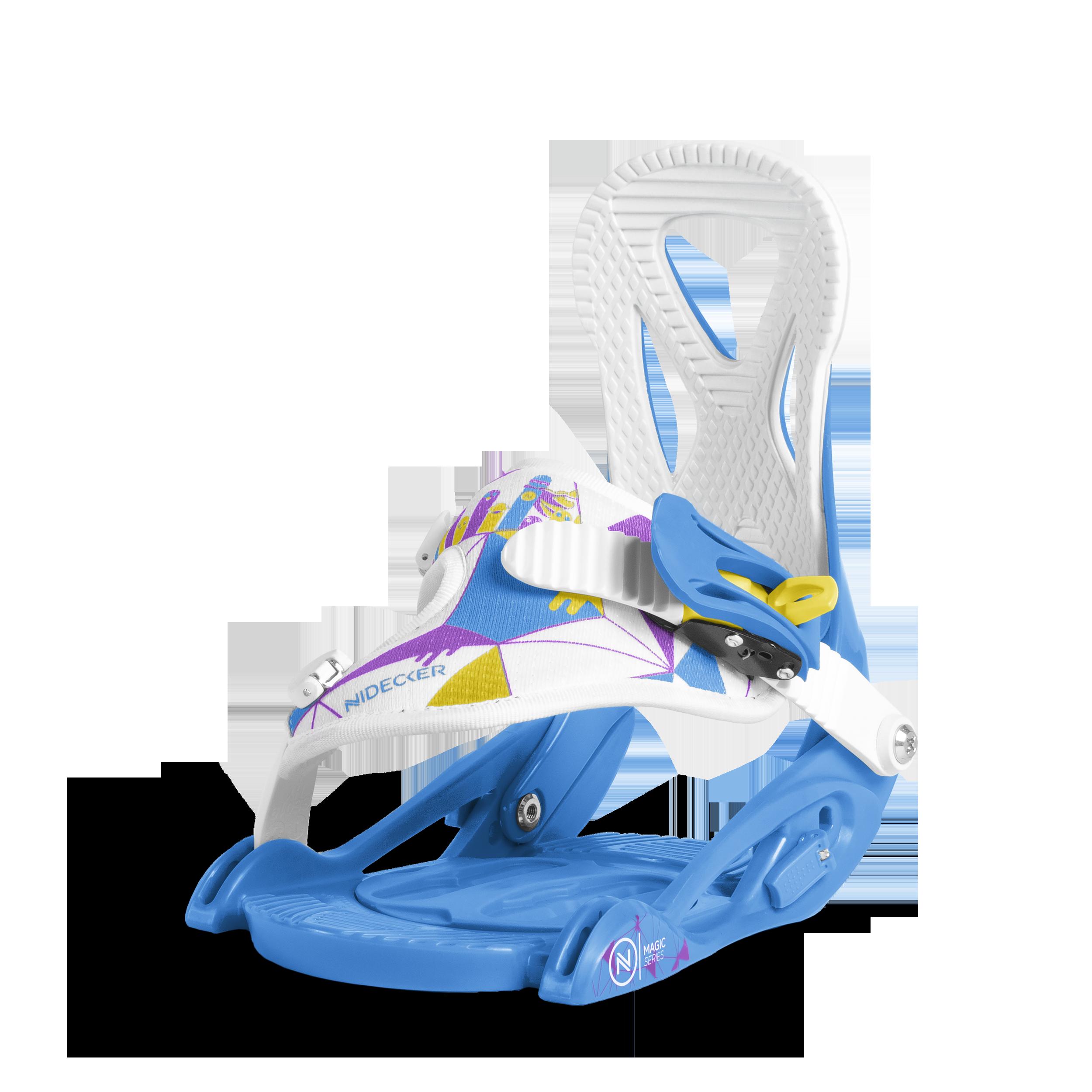 Сноуборд крепления NIDECKER 2017-18 MAGIC SERIES BLUE, Сноуборды - арт. 995690421