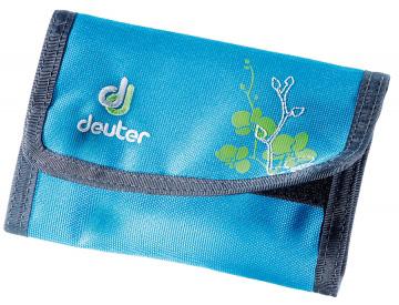 Кошелек Deuter School Wallet turquoise orchid