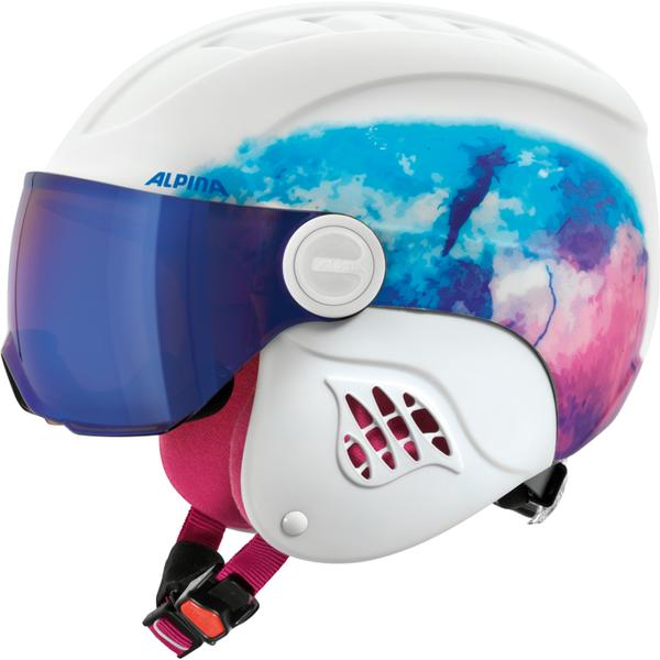 Зимний Шлем Alpina CARAT LE VISOR HM periwinkle matt - артикул: 925860428