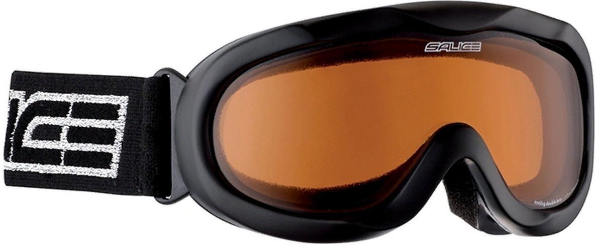 Очки горнолыжные Salice 884DAF BLACK/BROWN, Горнолыжные очки и маски - арт. 1063200418