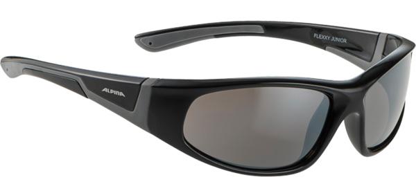 Очки солнцезащитные ALPINA FLEXXY JUNIOR black-grey