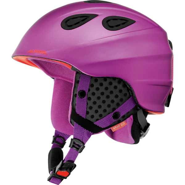 Зимний Шлем Alpina GRAP 2.0 periwinkle matt, Горнолыжные и сноубордические шлемы - арт. 919400428