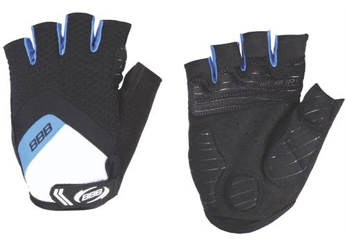 Перчатки велосипедные BBB HighComfort Gel black blue (BBW-41)
