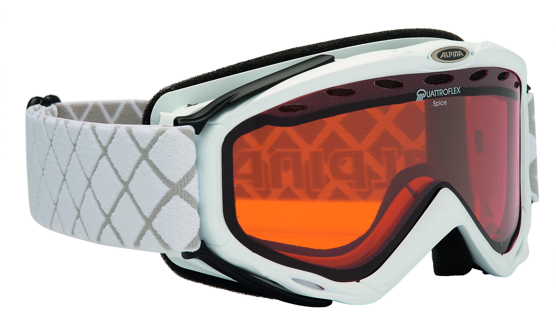 Очки горнолыжные Alpina Spice QH white_QH S2, Горнолыжные очки и маски - арт. 713560418