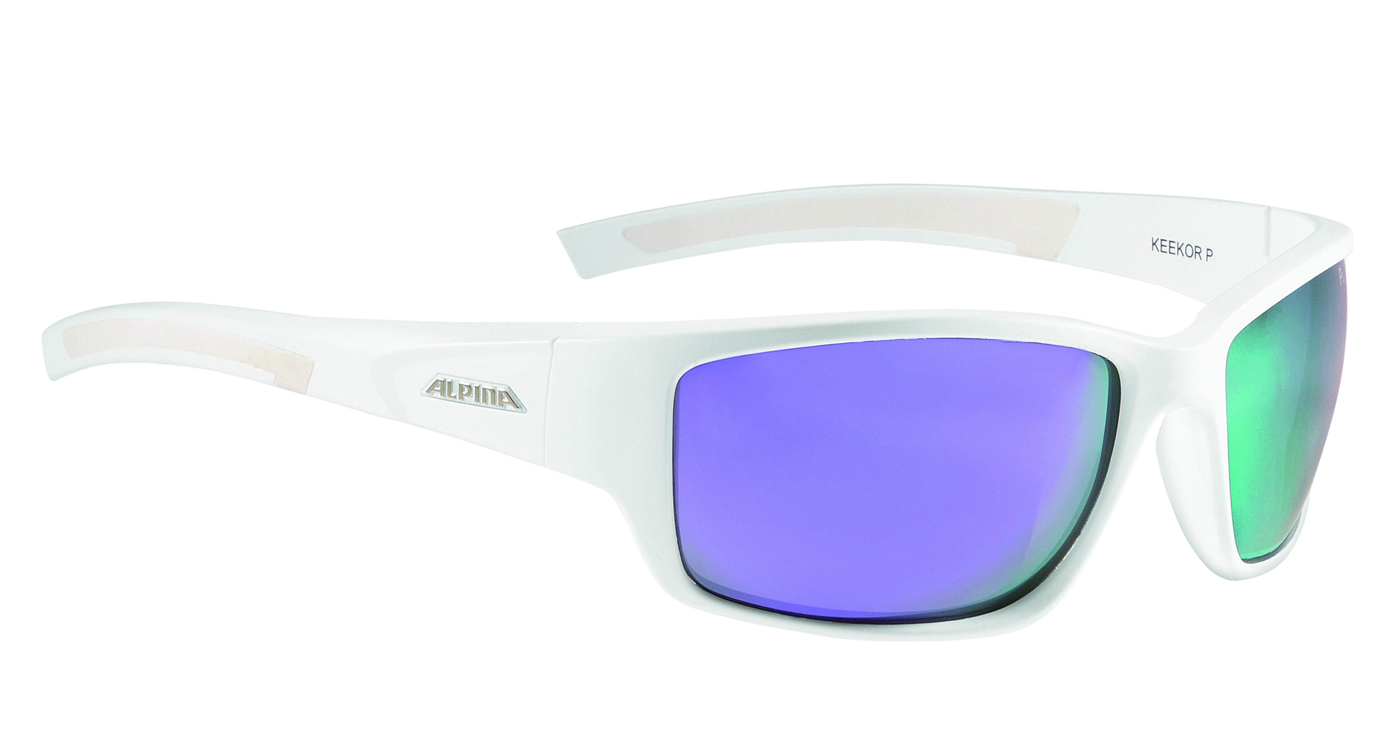 Очки солнцезащитные ALPINA 2017 KEEKOR P white matt