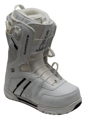 Ботинки для сноуборда Black Fire 2012-13 B&W 2QL white