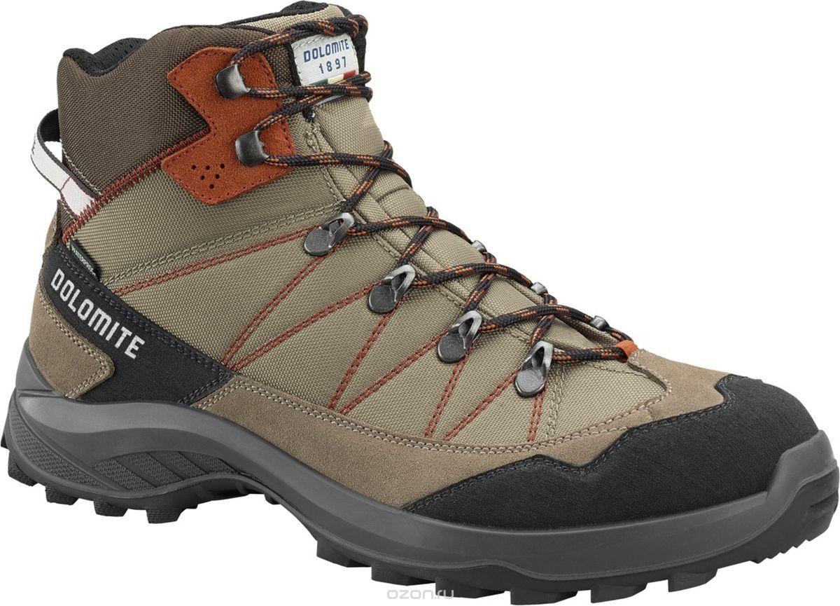 Купить Ботинки для хайкинга (высокие) Dolomite 2018 Tovel Wp Taupe Grey/Rusty Red