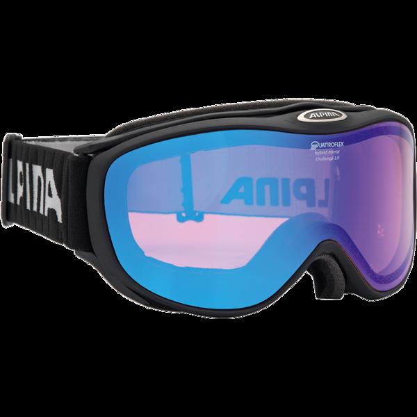Очки горнолыжные Alpina 2015-16 S30 Challenge S 2.0 QM anthracite (б/р:ONE SIZE), Горнолыжные очки и маски - арт. 970380418
