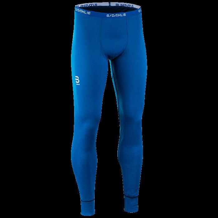 Брюки беговые Bjorn Daehlie 2017-18 Pants TrainingWool Mykonos Blue - артикул: 972770349
