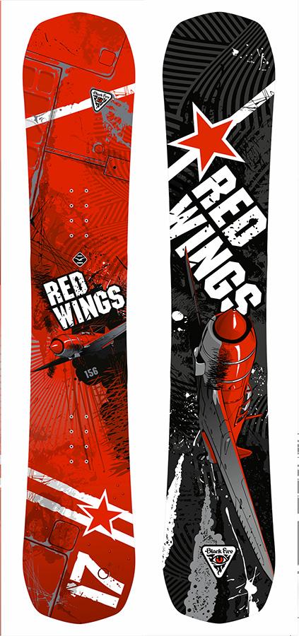 Сноуборд Black Fire 2016-17 Red Wings