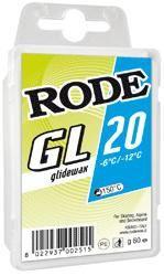 Безфтористый парафин RODE GLIDER BLUE 9OO GR, Уход за лыжами/сноубордом - арт. 1037290435