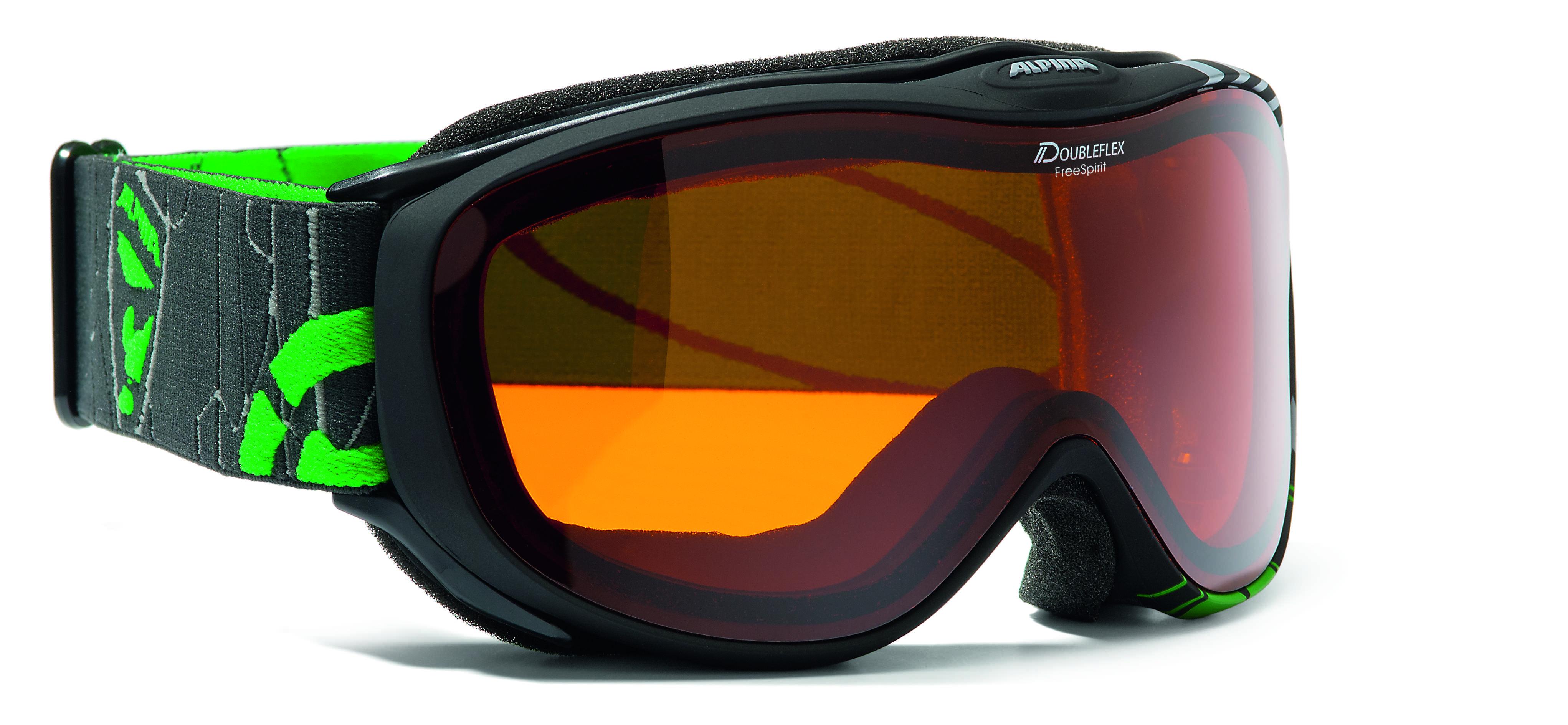 Очки горнолыжные Alpina FREESPIRIT DH black_DH S2, Горнолыжные очки и маски - арт. 708210418