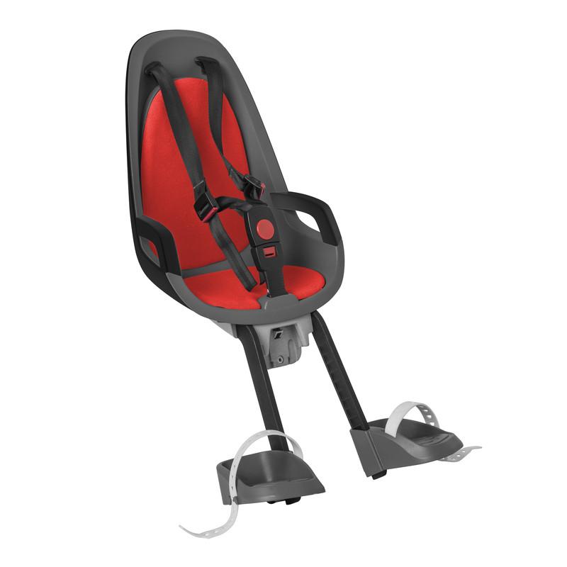 Детское кресло HAMAX CARESS OBSERVER серый/красный, Велокресла - арт. 578140364