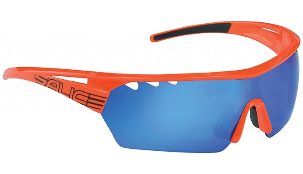 Очки солнцезащитные Salice 006RW ORANGE/RW BLUE