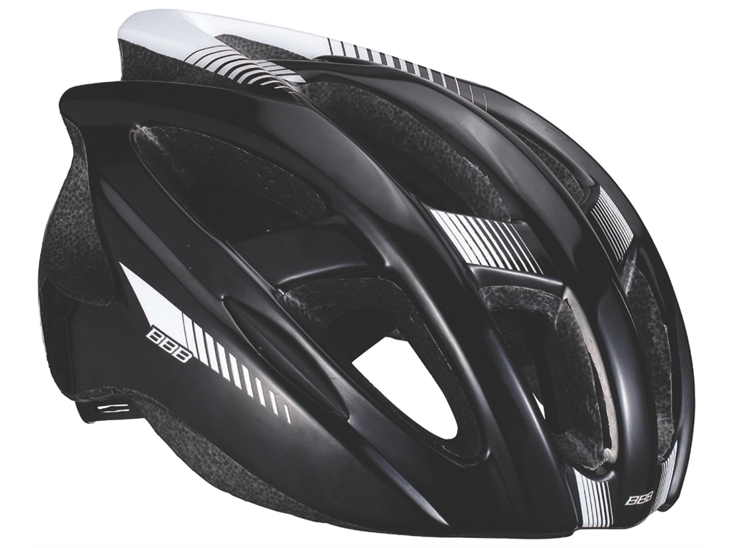 Летний шлем BBB 2015 helmet Hawk black white (BHE-27)