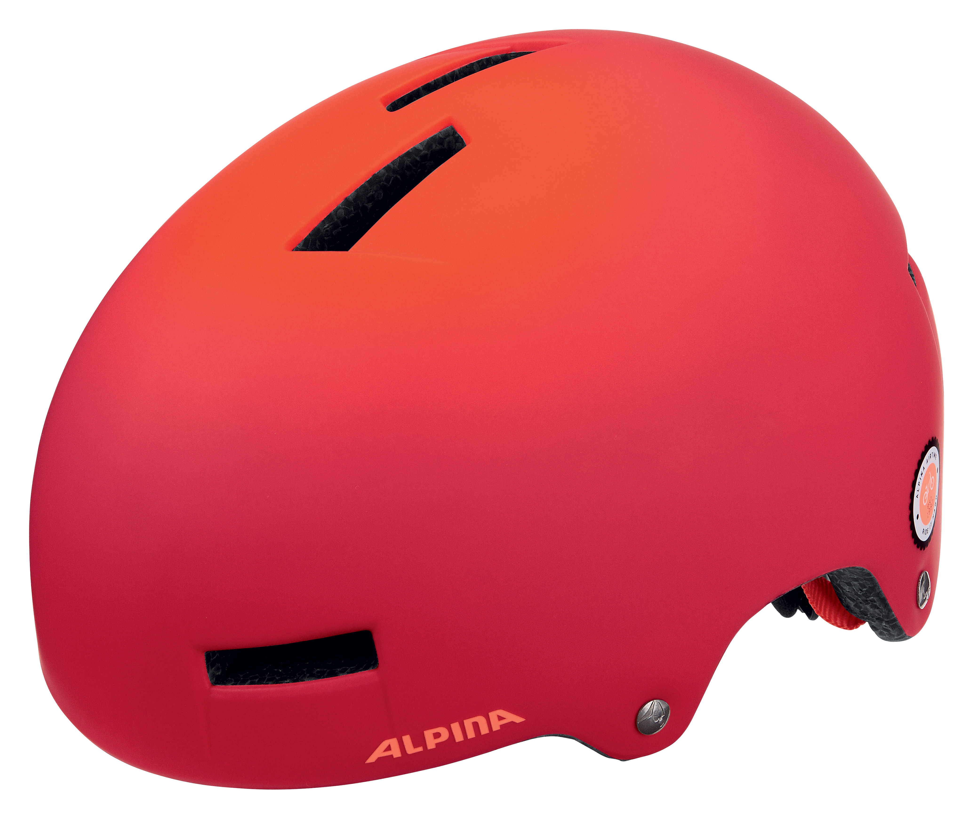 Летний шлем ALPINA 2017 AIRTIME red spot