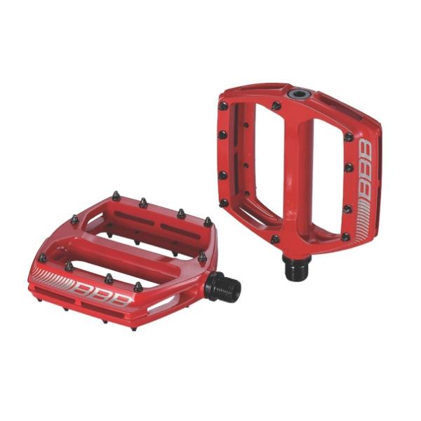 Педали BBB CoolRide mtb красный (BPD-36), Педали и трансмиссия - арт. 843100365
