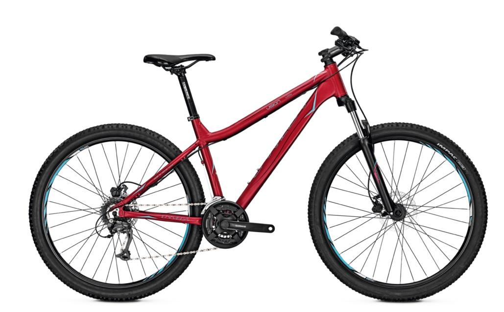 Велосипед UNIVEGA VISION 3.0 SKY 2017 cherryredmatt, Велосипеды - арт. 844080390