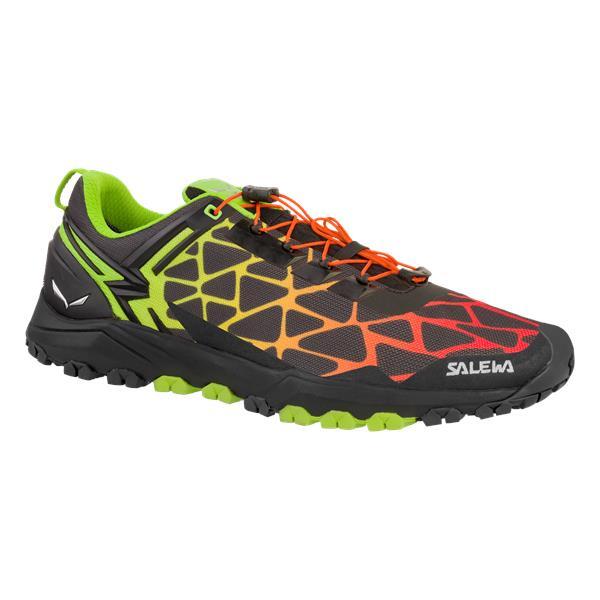 Ботинки для треккинга (низкие) Salewa 2017-18 MS MULTI TRACK Black/Cactus, Треккинговая обувь - арт. 1002990252