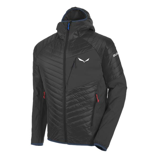 Куртка для активного отдыха Salewa 2017-18 ORTLES HYBRID 2 PRL M JKT black out/3990