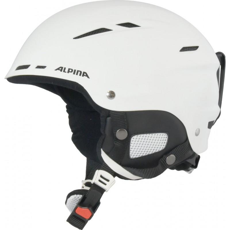 Зимний Шлем Alpina BIOM white matt (см:54-58), Горнолыжные и сноубордические шлемы - арт. 1117400428