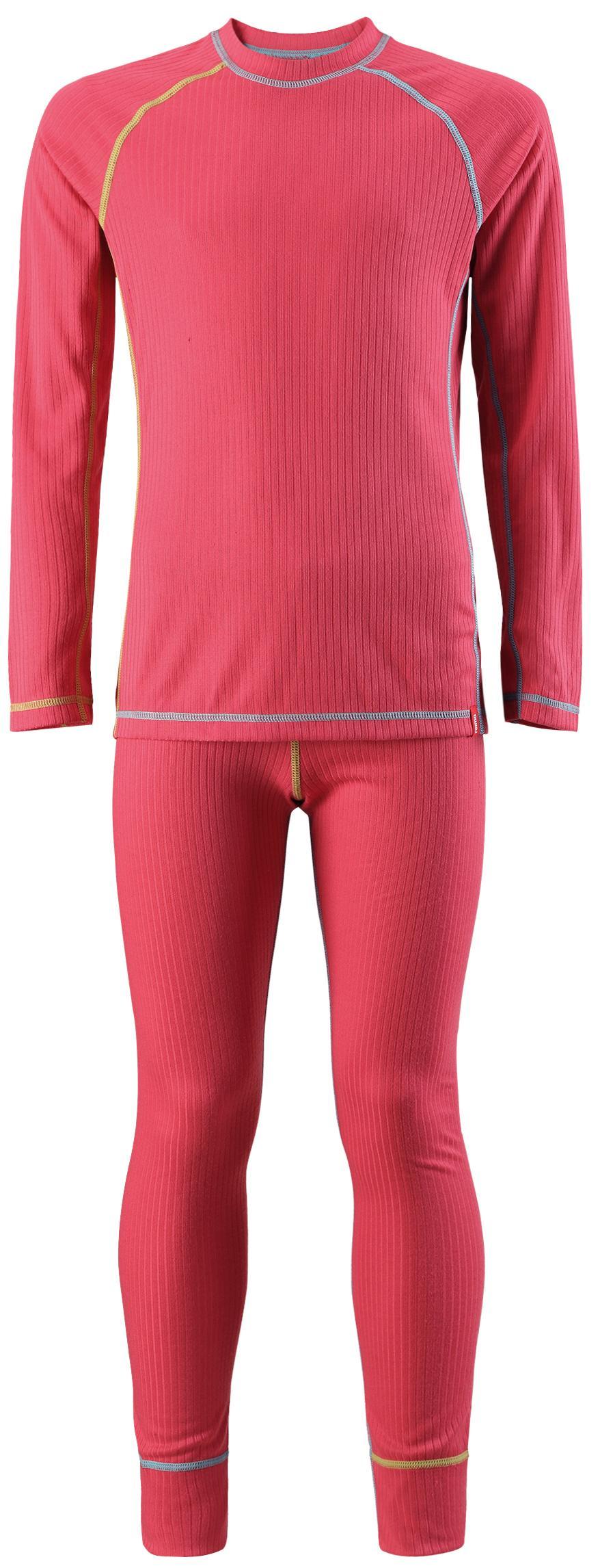 Комплект (футболка, длинный рукав, + брюки) Reima 2018-19 Cepheus STRAWBERRY RED, Брюки - арт. 1117620151