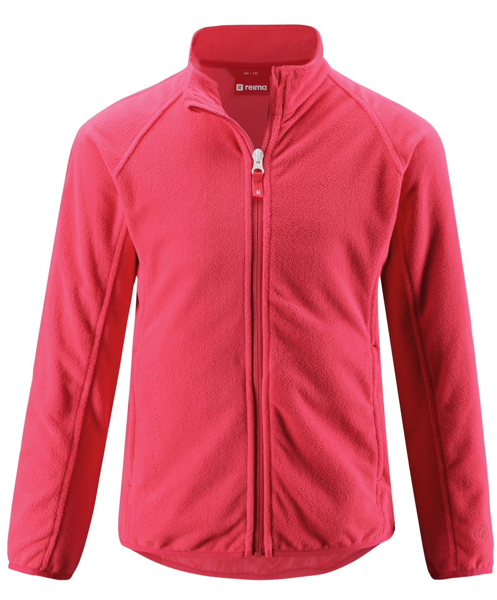Флис горнолыжный Reima 2018-19 Alagna STRAWBERRY RED, Куртки из Polartec и флиса - арт. 1117600330