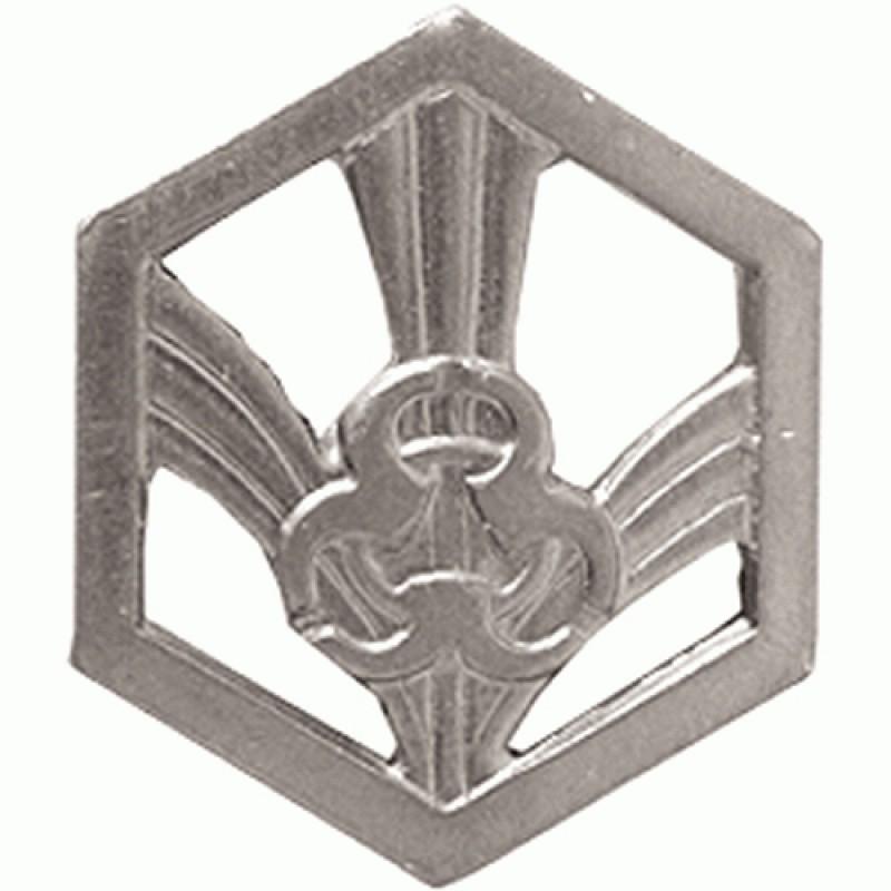 Купить Эмблема петличная РХБЗ нового образца полевая металл, Компания «Сплав»
