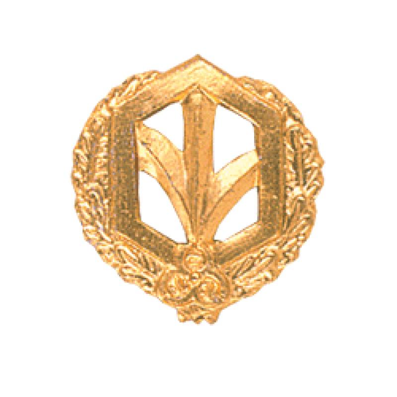 Купить Эмблема петличная РХБЗ повседневная металл, Компания «Сплав»