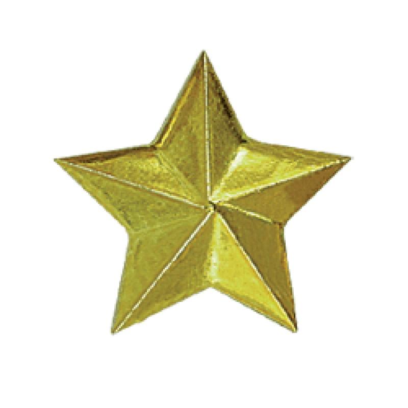 Знак различия Звезда большая золотая металл