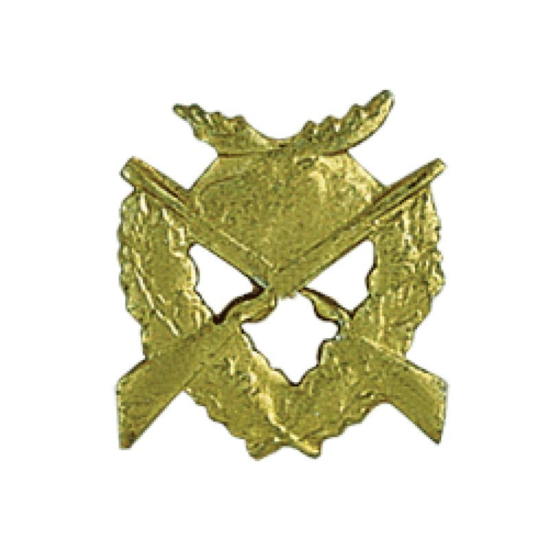 Эмблема петличная Егерская служба металл