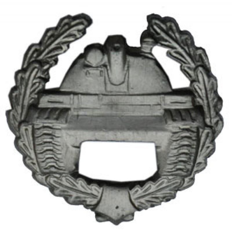 Эмблема петличная Танковые войска полевая металл