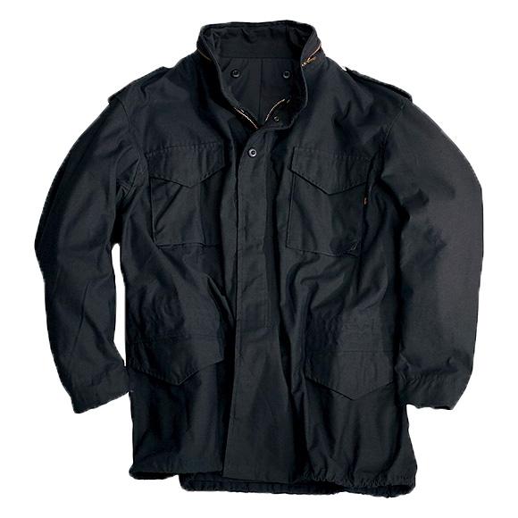 Куртка M-65 Black с подстежкой Alpha Industries